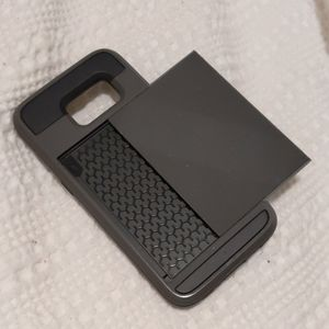 Samsung galaxy s7 phone case with card slot